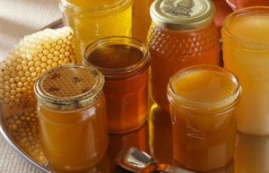 Assorted Jars of Honey