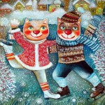 winter-cats-oxana-zaika